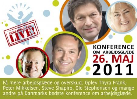 Arbejdsglæde Live! 2011 Konference