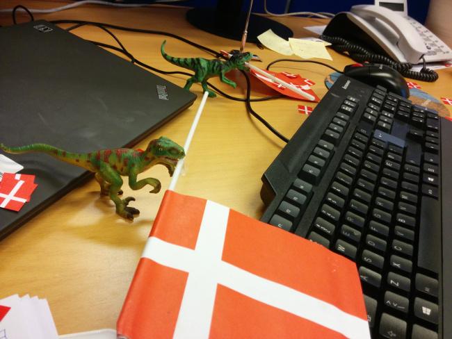 Arbejdsglæde med dinoer