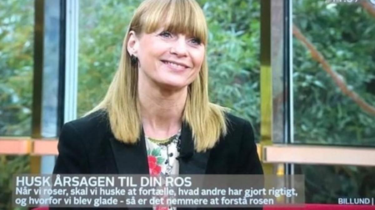 Arlette Bentzen i Go' Morgen Danmark TV2