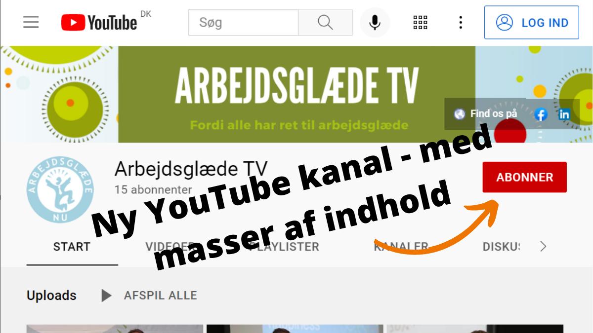 Ny YouTube kanal med masser af indhold