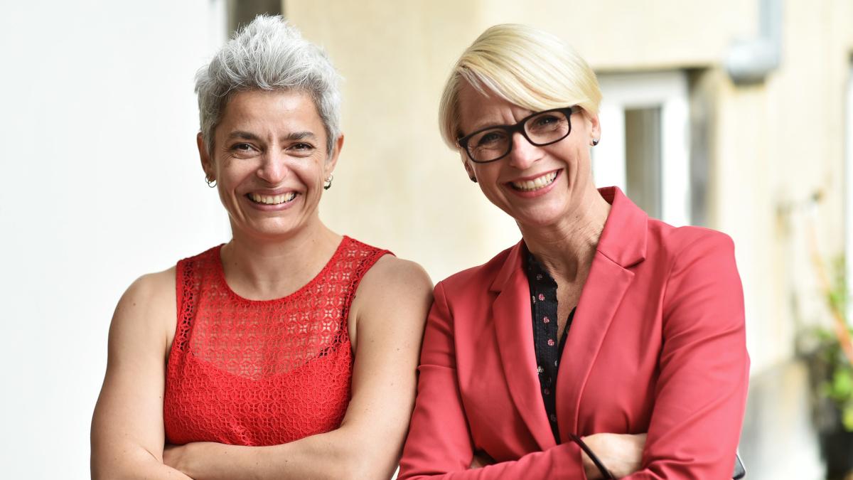 Patricia og Arlette - Arbejdsglæde nu